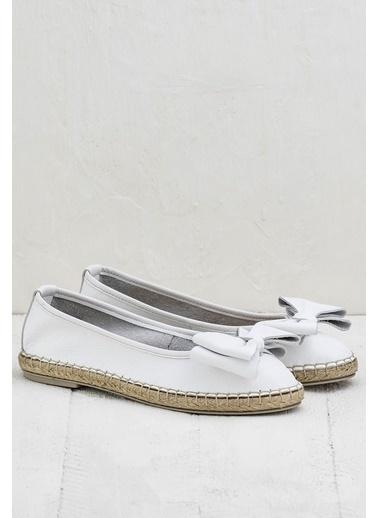 Elle Espadril Ayakkabı Beyaz